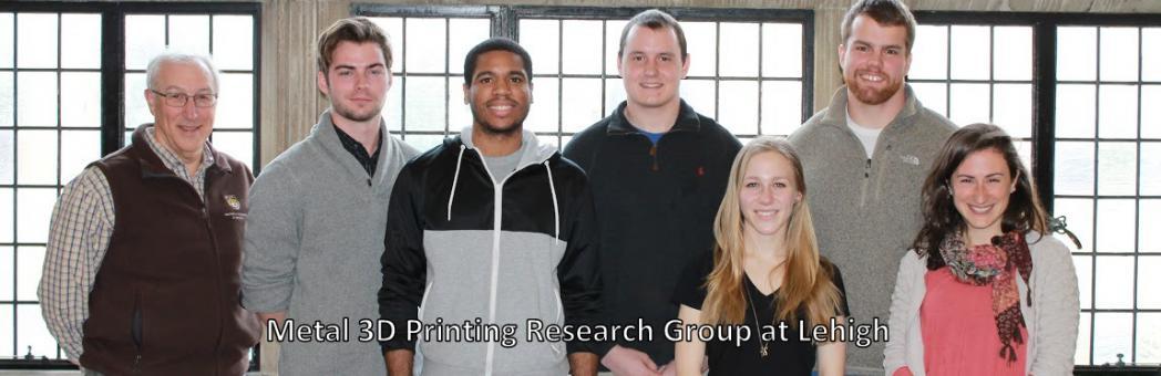 Metal 3D Printing Research Group at Lehigh